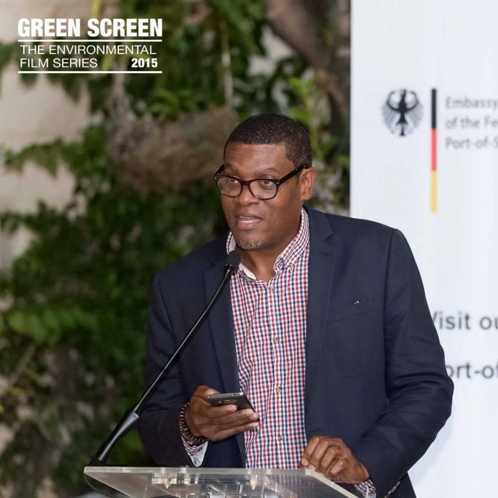 Green Screen film festival director Carver Bacchus. -