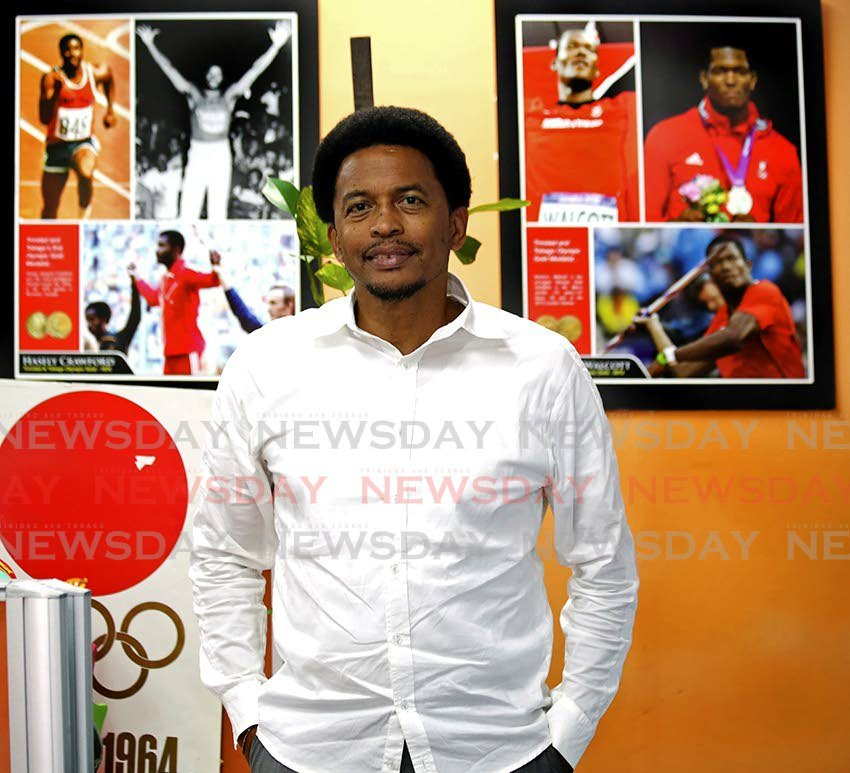 President of the Trinidad and Tobago Olympic Committee Brian Lewis. - SUREASH CHOLAI