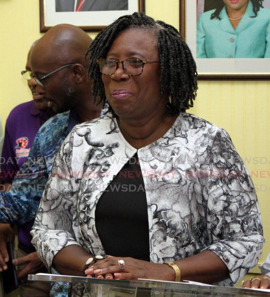 Pan Trinbago President Beverly Ramsey-Moore - ANGELO MARCELLE