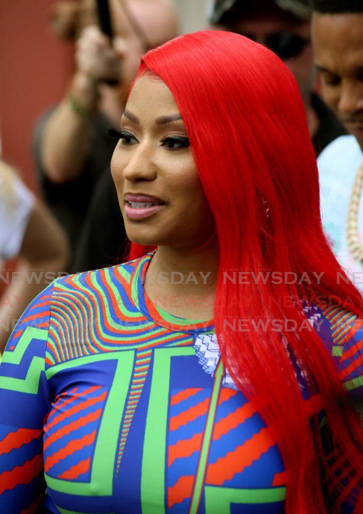 Nicki Minaj. - Photo by Sureash Cholai