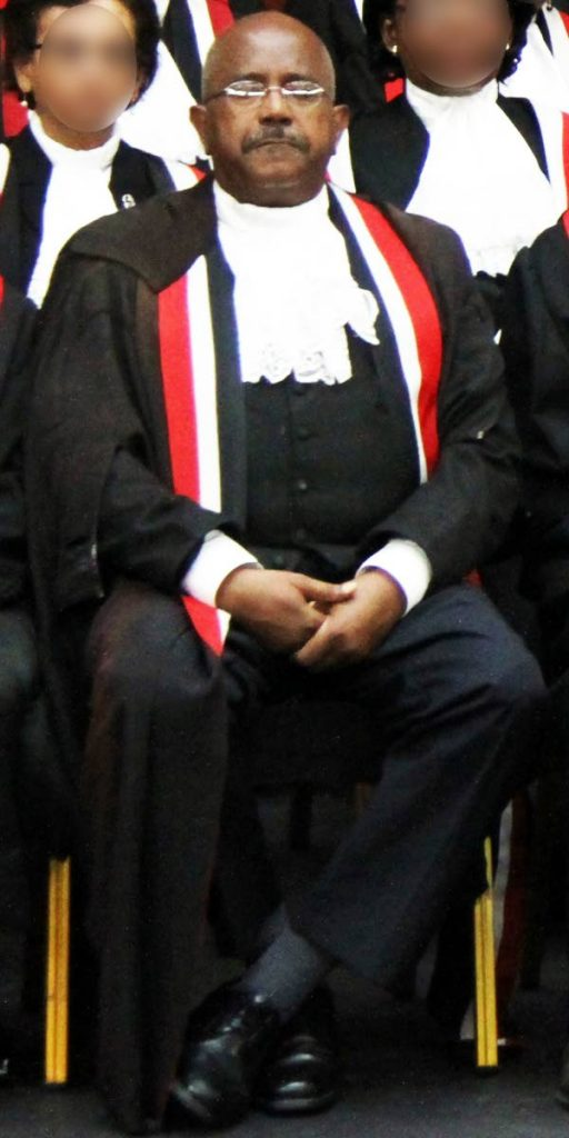 Appeal Court judge Nolan Bereaux who along with two other judges, ruled that a policy regarding the need for an analysis certification on imported third-scheduled pharmaceuticals was unlawful. FILE PHOTO  -