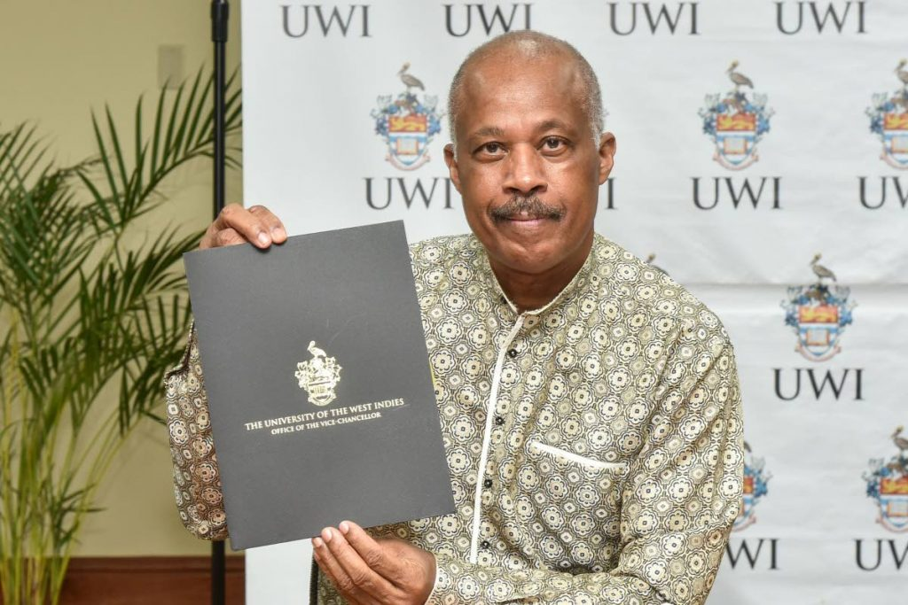 The UWI Vice-Chancellor, Professor Sir Hilary Beckles. -