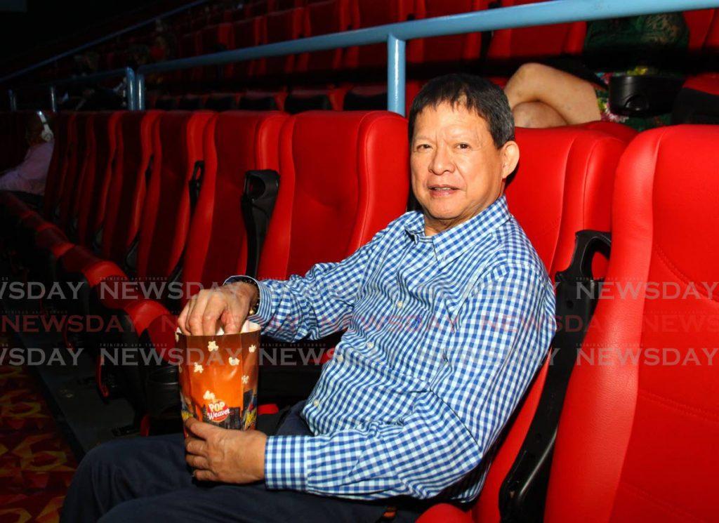 MovieTowne owner Derek Chin. FILE PHOTO -