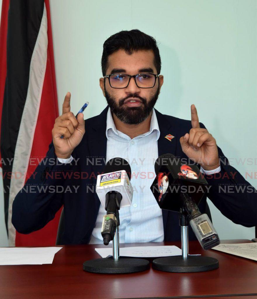 Barataria/San Juan MP Saddam Hosein. -