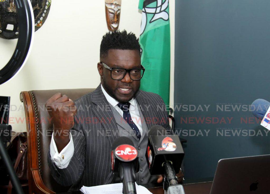 PDP political leader Watson Duke  -
