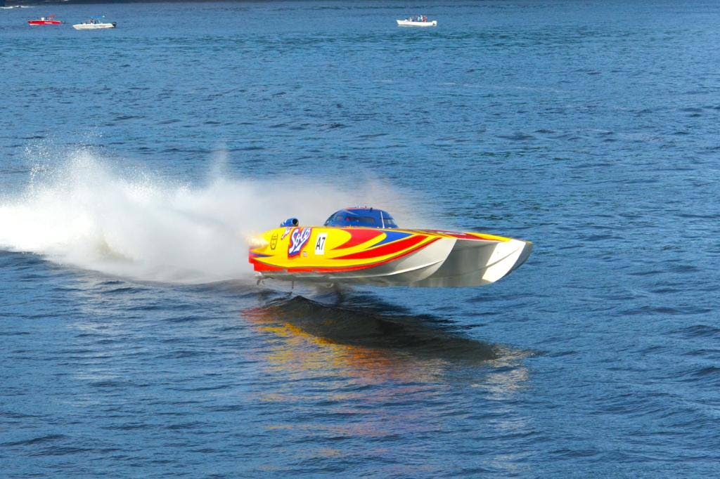 In this file photo, Mr. Solo makes his first competitive appearance for 2021 at the TTPBA's second National Championships regatta. On Monday, Trinidad and Tobago Powerboat Association president Roger Bell welcomed Finance Minister Colm Imbert's announcement of government support of the country's first international P1 circuit event during his budget presentation in Parliament. - Ronald Daniel