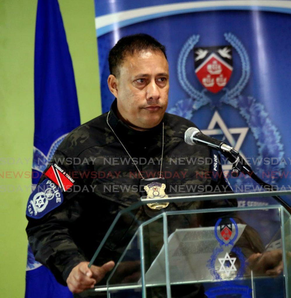 Former police commissioner Gary Griffith. -