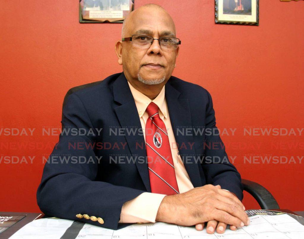 President of the Trinidad and Tobago Cricket Board Azim Bassarath   - AYANNA KINSALE