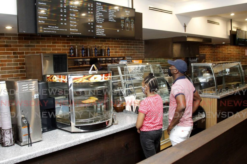 FILE PHOTO: Rituals Coffee Shop on Park Street, Port of Spain. -