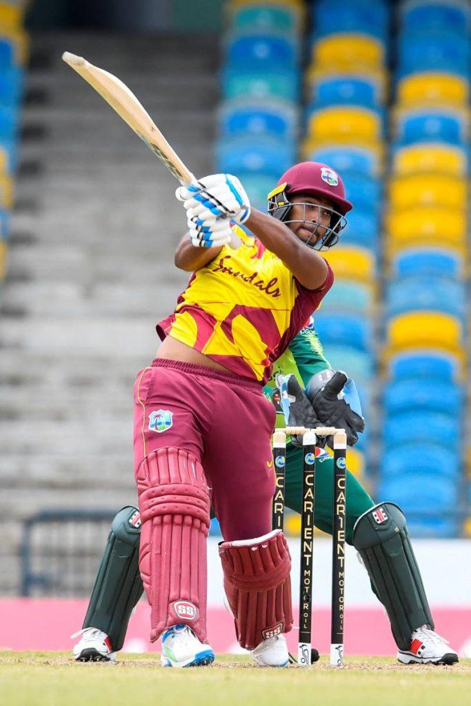 West Indies cricketer Nicholas Pooran. -