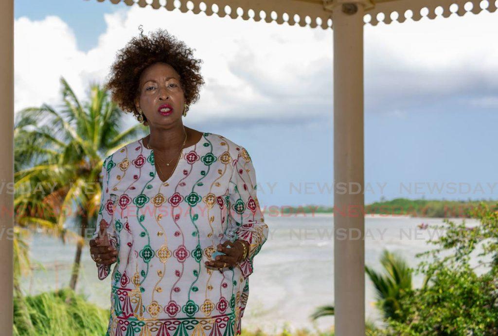 Tobago Hotel and Tourism Association vice president Carol-Ann Birchwood-James Photo by David Reid