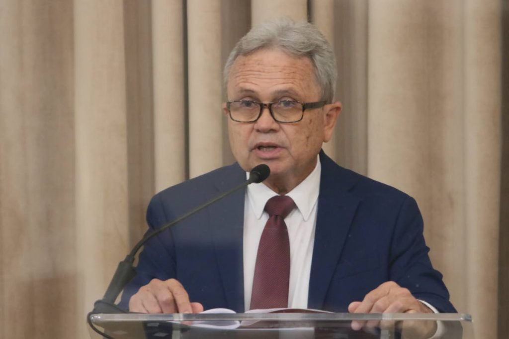 Minister of finance Colm Imbert read the 2021/2022 budget in the Red House on October 4  PHOTO COURTESY OFFICE OF THE PARLIAMENT -