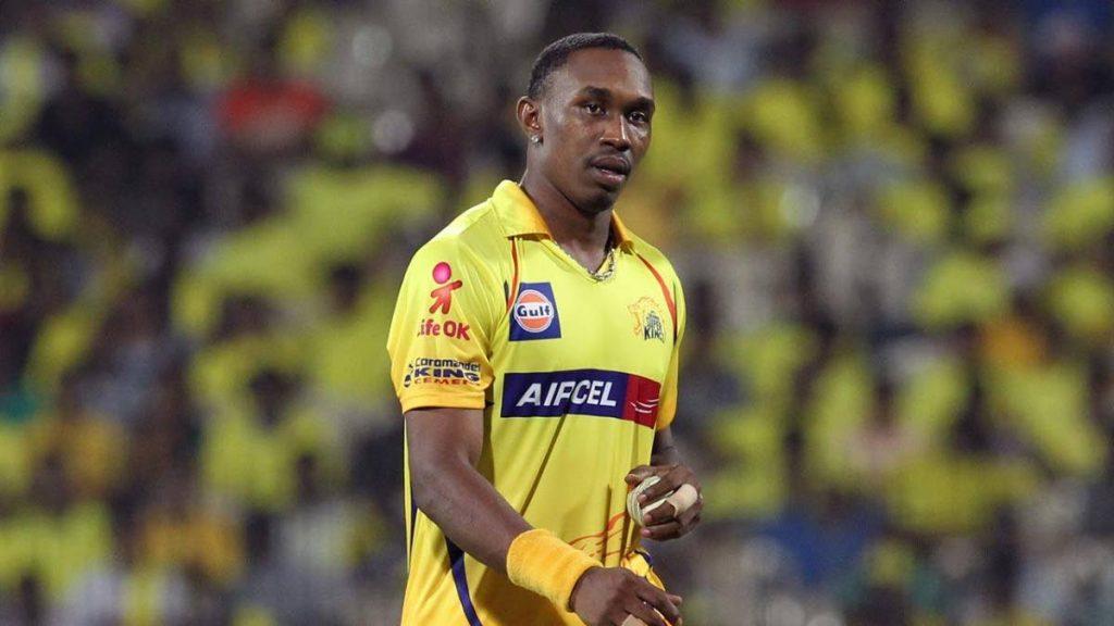 Chennai Super Kings' Dwayne Bravo -