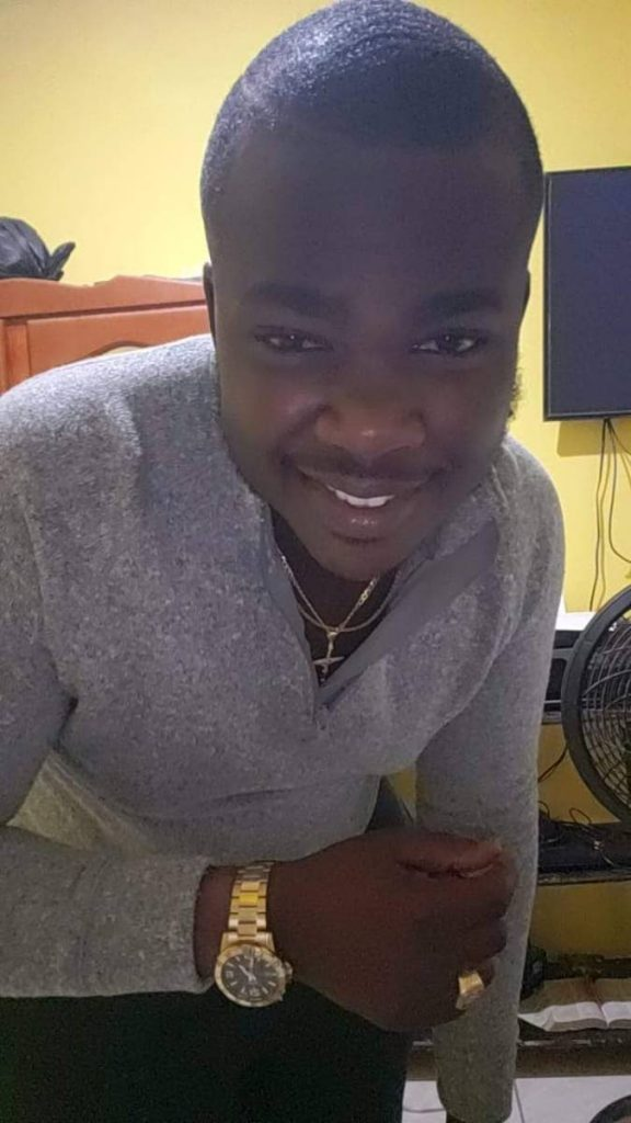 Triston Robertson, 23, was shot dead in Cocorite on Tuesday afternoon.   PHOTO COURTESY ROBERTSON RELATIVES -