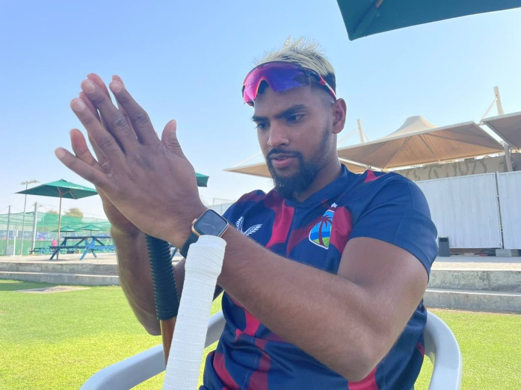 West Indies vice-captain Nicholas Pooran. - CWI Media