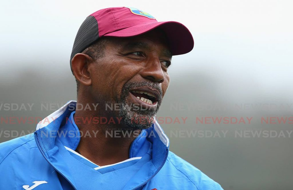 West Indies head coach Phil Simmons -