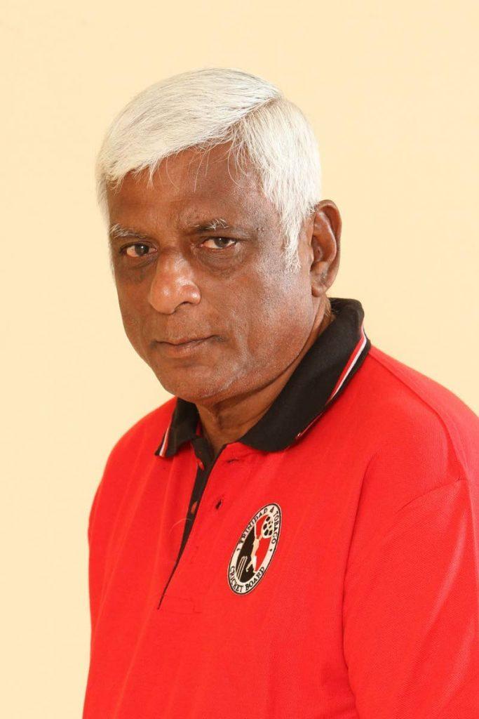 Former sport minister and TTCB member Manohar Ramsaran. -