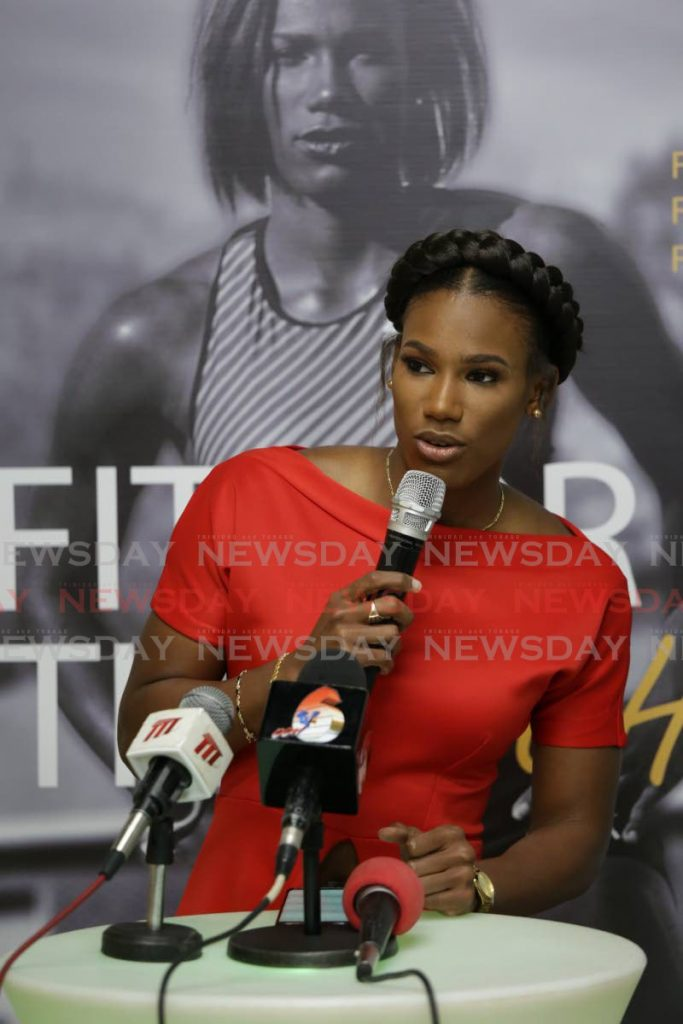 (FILE) Kai Selvon at the launch of her book Fit for the Fight.