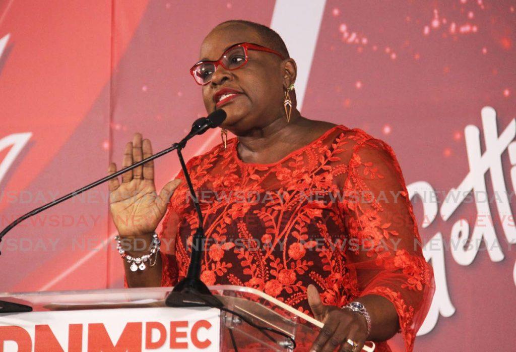 PNM Women's League chairman Camille Robinson-Regis. -